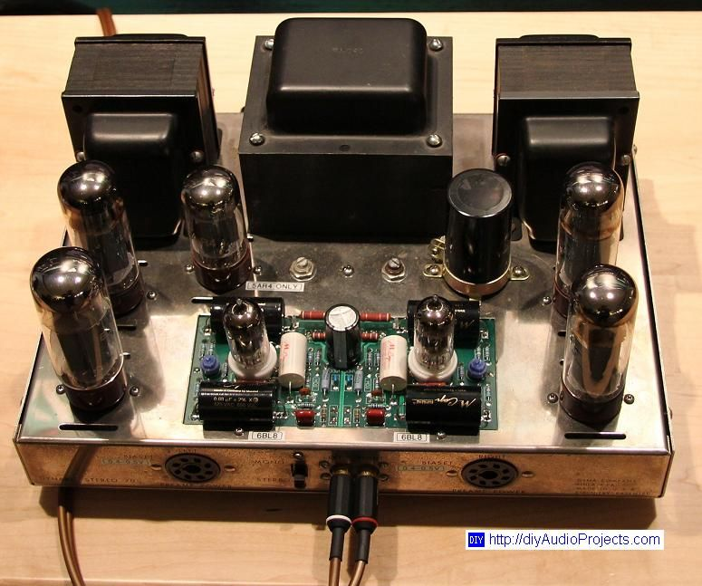 Dynaco Dynakit Stereo 70 St70 Tube Amplifier With Images