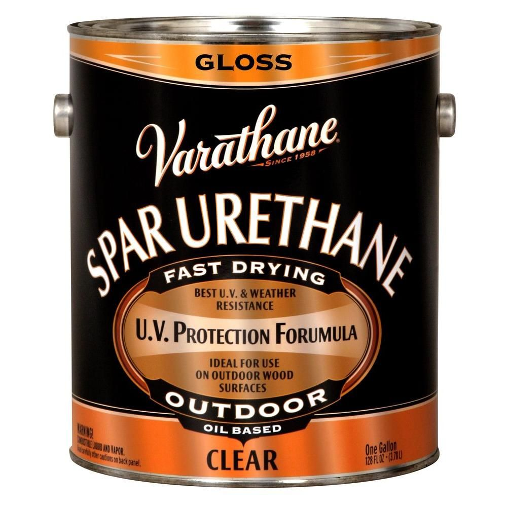 Varathane 1 Gal Clear Gloss 275 Voc Oil Based Exterior Spar