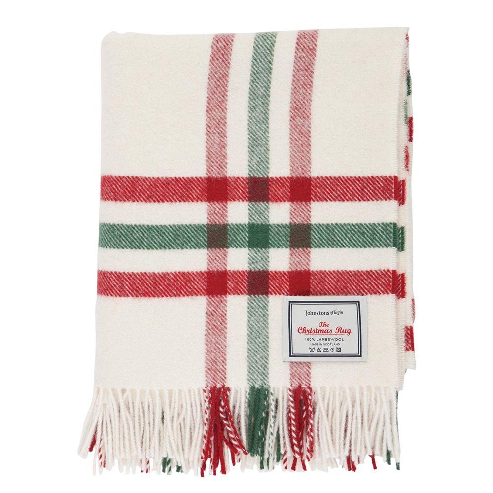 Johnstons Of Elgin The Christmas Rug In White 45 00