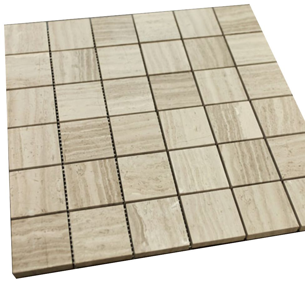 6x6 grey wooden look square pattern stone tiles mosaics and squares 6x6 grey wooden look square pattern dailygadgetfo Image collections