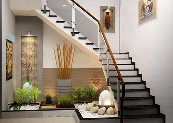 Bonny staircase home decorative design at modern interior concepts