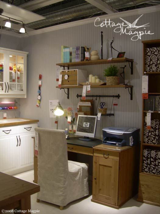 Craft Room Cottage Style Ideas From Ikea Sewing Room