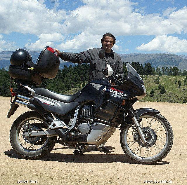 My Honda Transalp 99, 600cc and me, What a hell I´m so beauty jajjaja