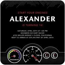 Image Result For Free Party Invitation Templates Go Kart Birthday