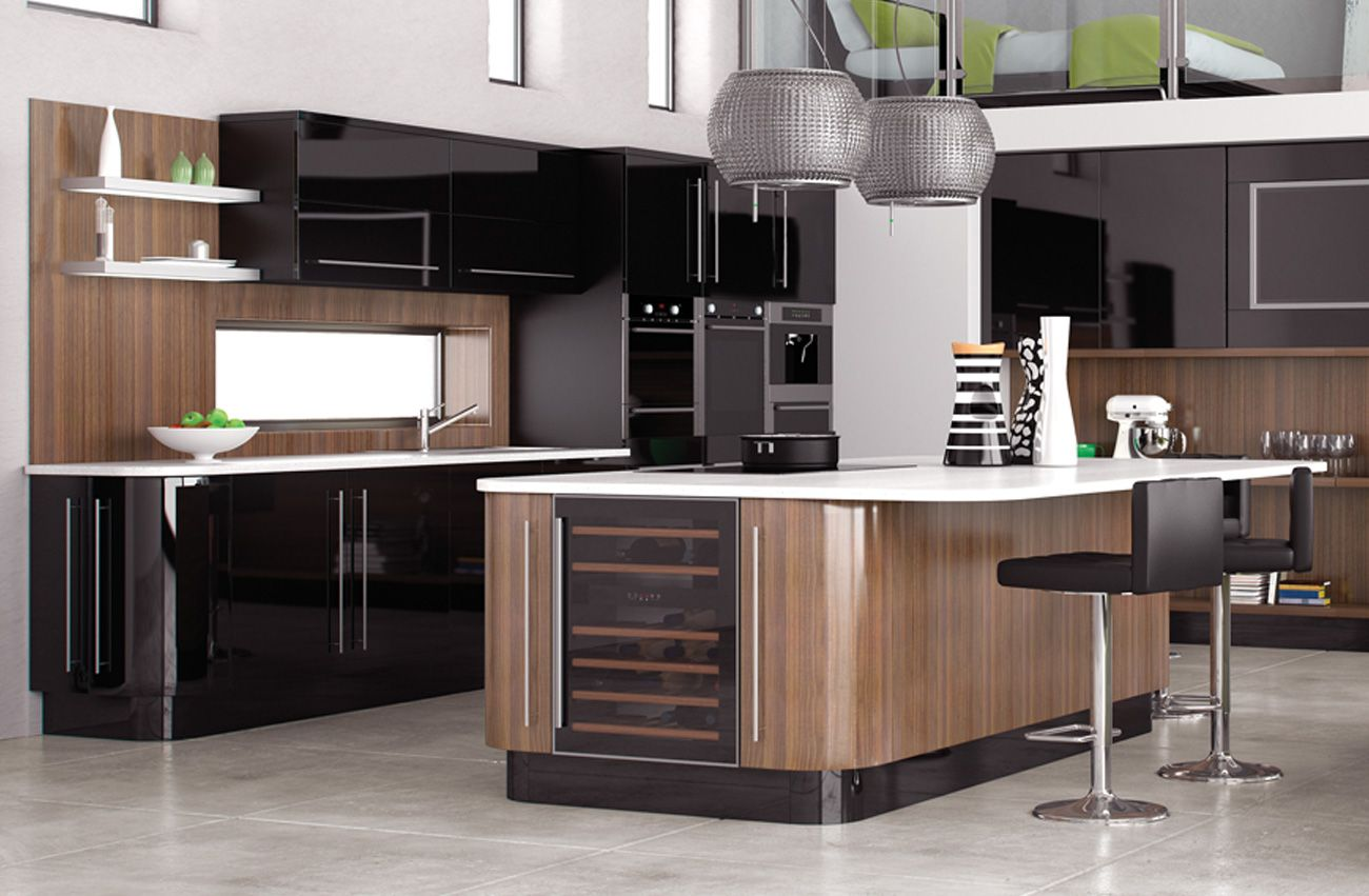 Explore Black Kitchens, Fitted Kitchens, And More! New York ...