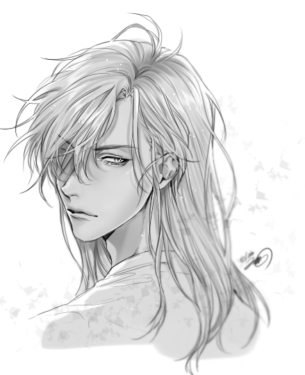 Pin By Lily G On 8 Anime Hairstyles Male Anime Hair Anime Boy Long Hair