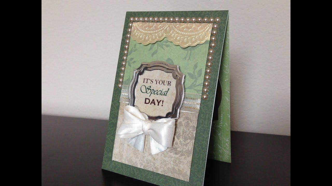 Handmade birthday card for him with images handmade