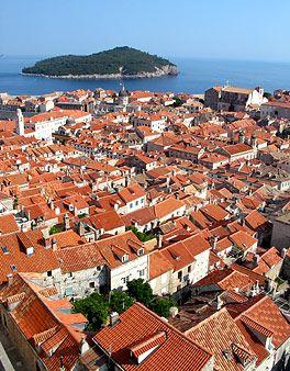 Red-tiled Dubrovnik