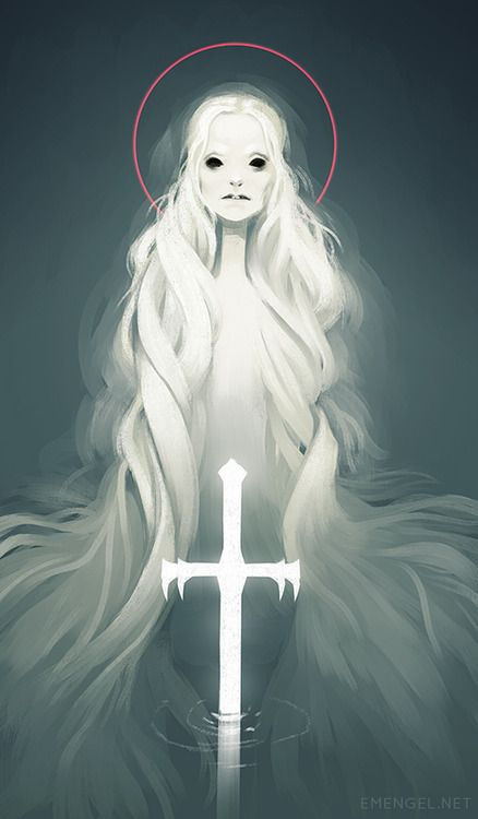 Lady of the Lake (http://blog.emengel.net/post/82952532871/lady-of-the-lake-for-sketch-dailies-it-feels)