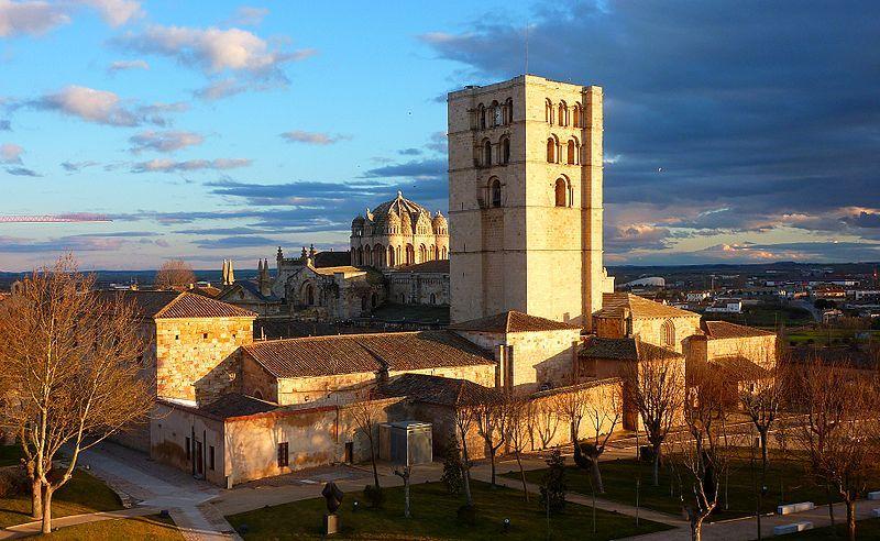 Cathédrale de Zamora vu depuis le château