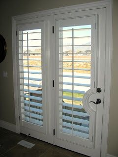 Plantation Shutters For French Doors What These For My