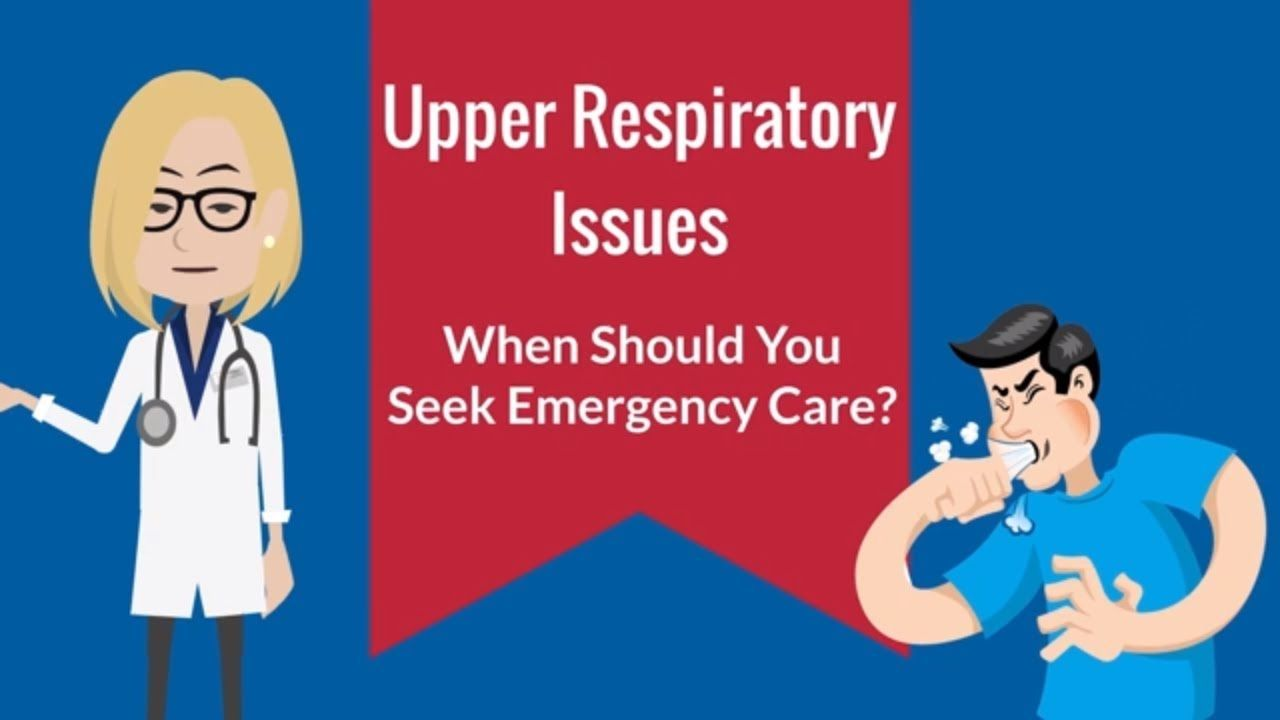 When breathing is difficult, it is scary. When should we