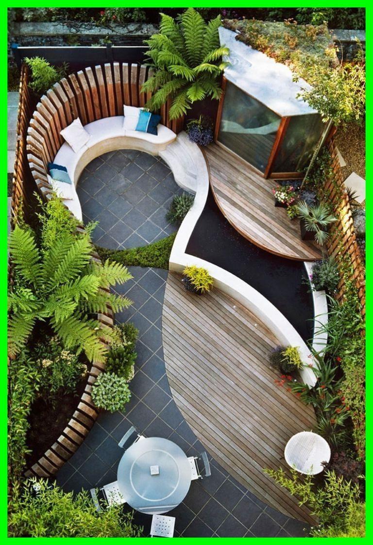 40 Tips Easy To Make Small Garden Design Ideas Modern Garden Design Small Backyard Landscaping Small Backyard Gardens
