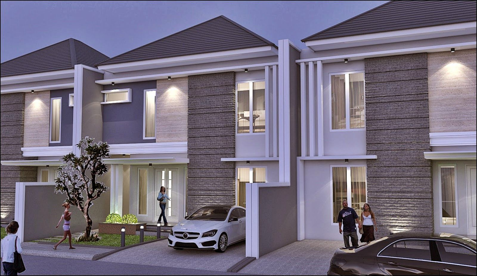 Corner studio arsitek exterior design pinterest exterior design
