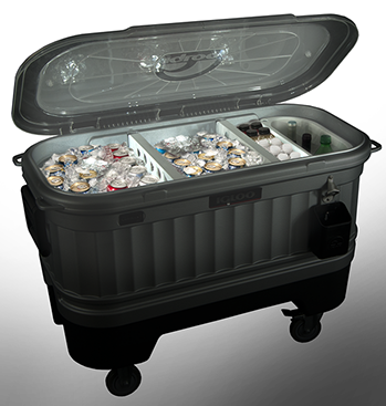 Igloo Coolers Party Bar Powered By LiddUp With LED Light Technology Is The Perfect Backyard