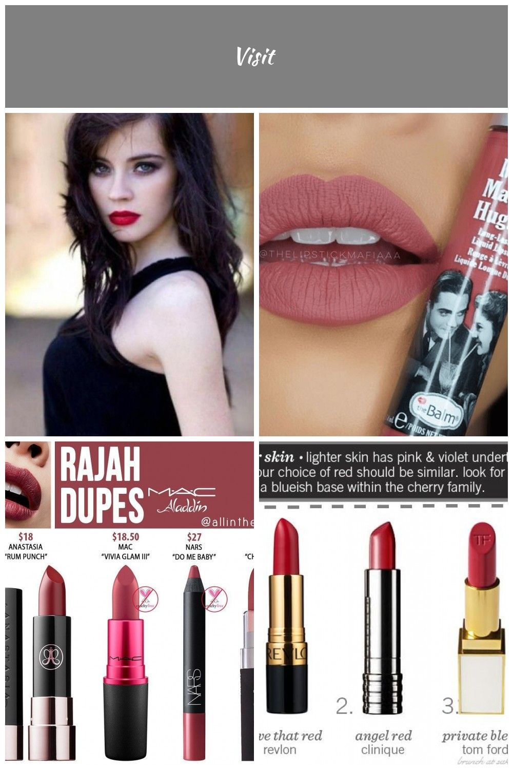 blood red lipstick for fair skin and dark hair  Google Search lipstick For Fair Skin