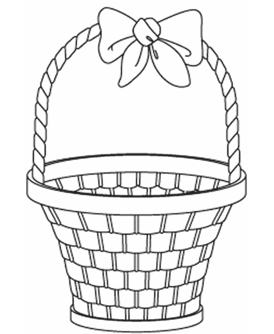 Awesome Coloring Page Basket That You Must Know You Re In