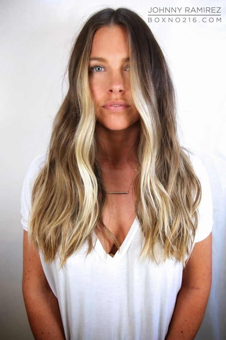 Image Result For Brown Hair Blonde Highlights Front Surfer Hair Surf Hair Hair Styles