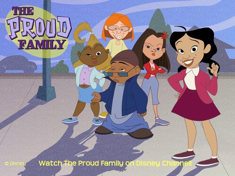 The Proud Family Con Imagenes Recuerdos De La Infancia Ninos