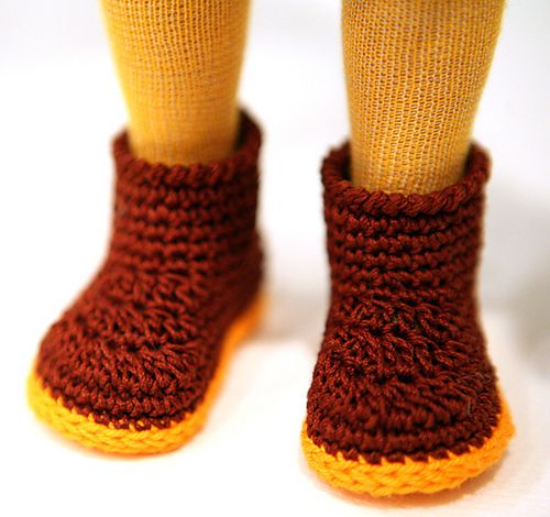 Ravelry: cataddict\'s tourist in Tokyo - free boots crochet pattern ...
