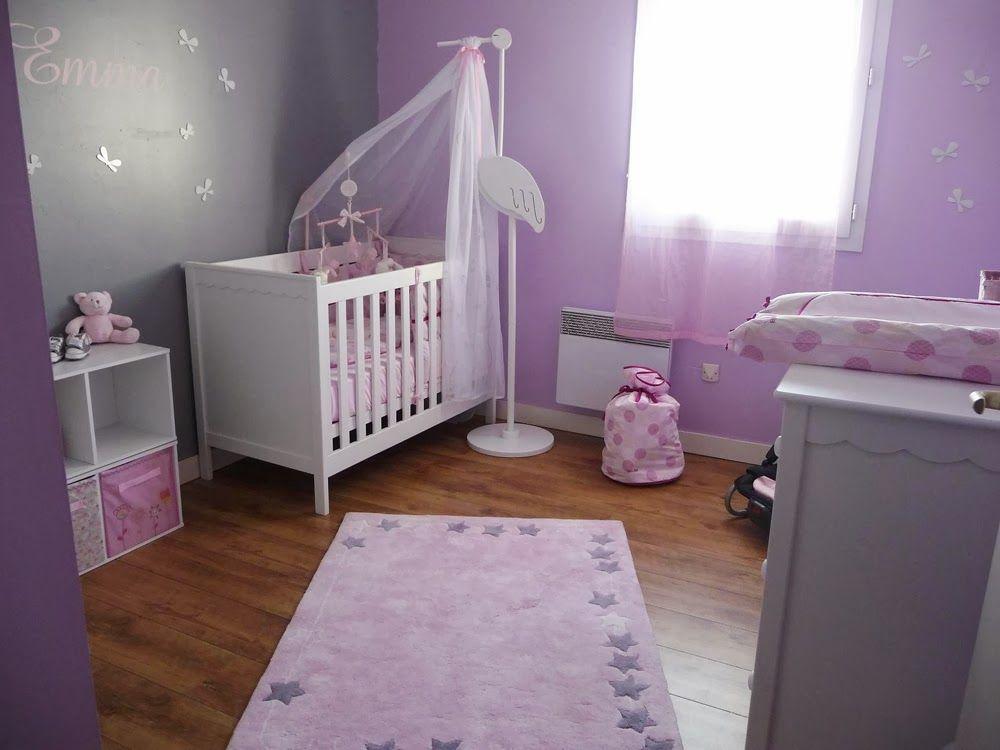 Dormitorio de beb s lila habitaci n beb pinterest - Dormitorios de bebe ...
