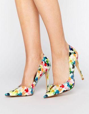 Zapatos De Salon Con Estampado De Flores De Dune Zapatos Y