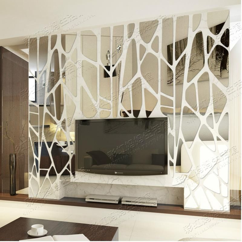 Cheap Sticker Label Buy Quality Stickers Square Directly From China Stickers Gsxr Suppliers Geometric P Mirror Design Wall Wall Design Small House Decorating