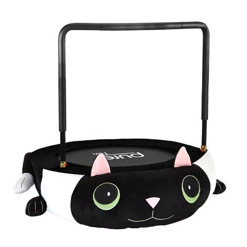 Pure Fun 36-inch Kitty Cat Plush Jumper Kids Trampoline with Handrail - Walmart.com - Walmart.com
