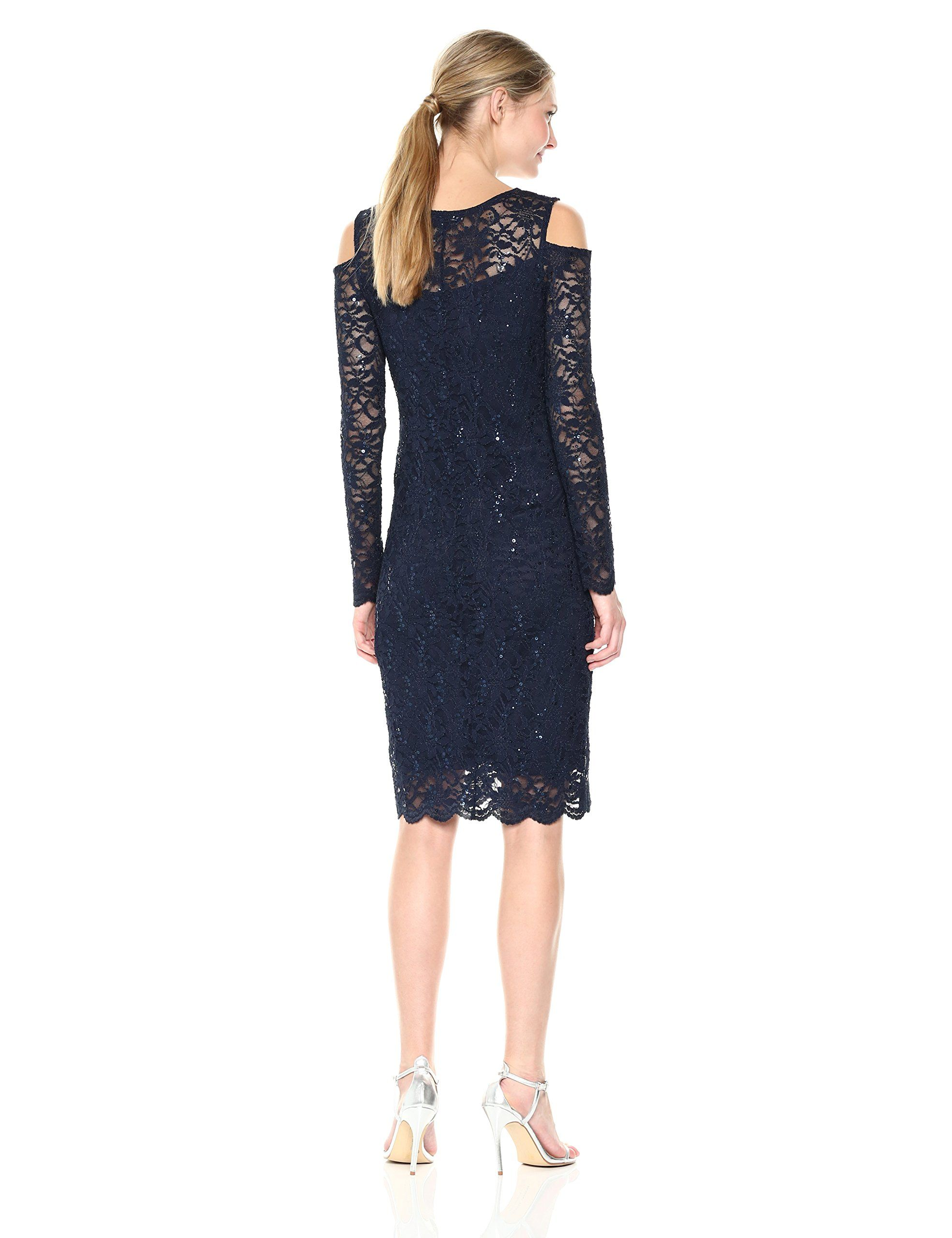 Tiana B Womens Lace Dress Navy 10 More Info Could Be