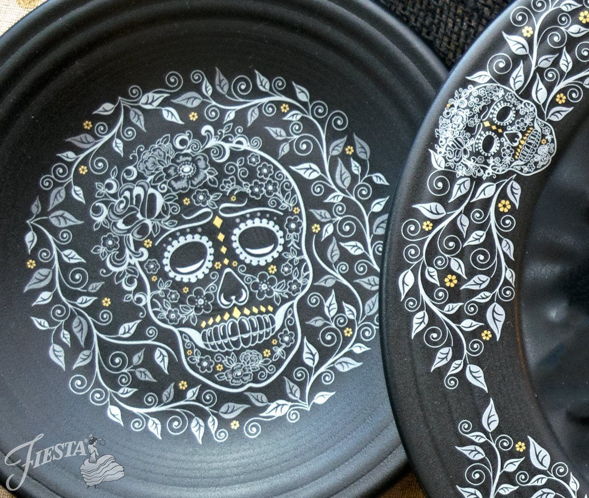 Fiesta® Skull and Vine Dinnerware | Fiesta® / Homer Laughlin China ...