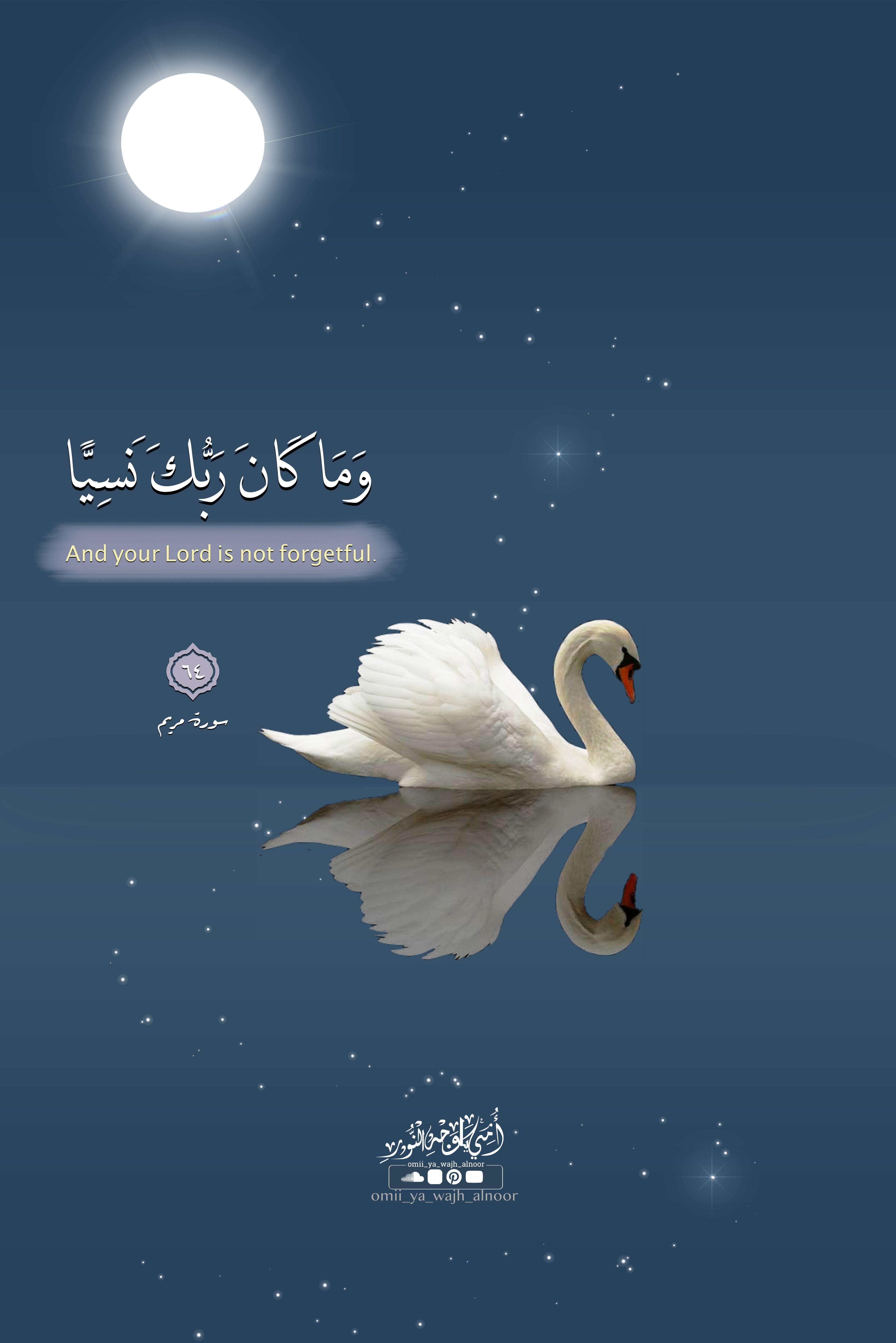 وما كان ربك نسيا Islamic Pictures Arabic Art Wedding Frames