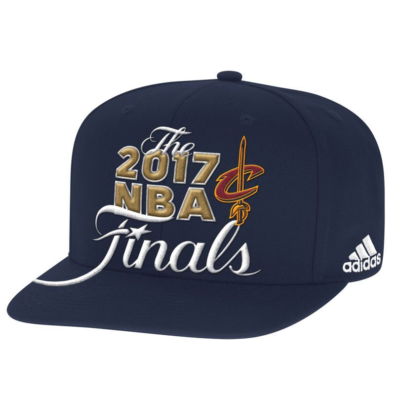 Cleveland Cavaliers adidas 2017 Eastern Conference Champions Locker Room  Snapback Adjustable Hat - Navy 585898f7a