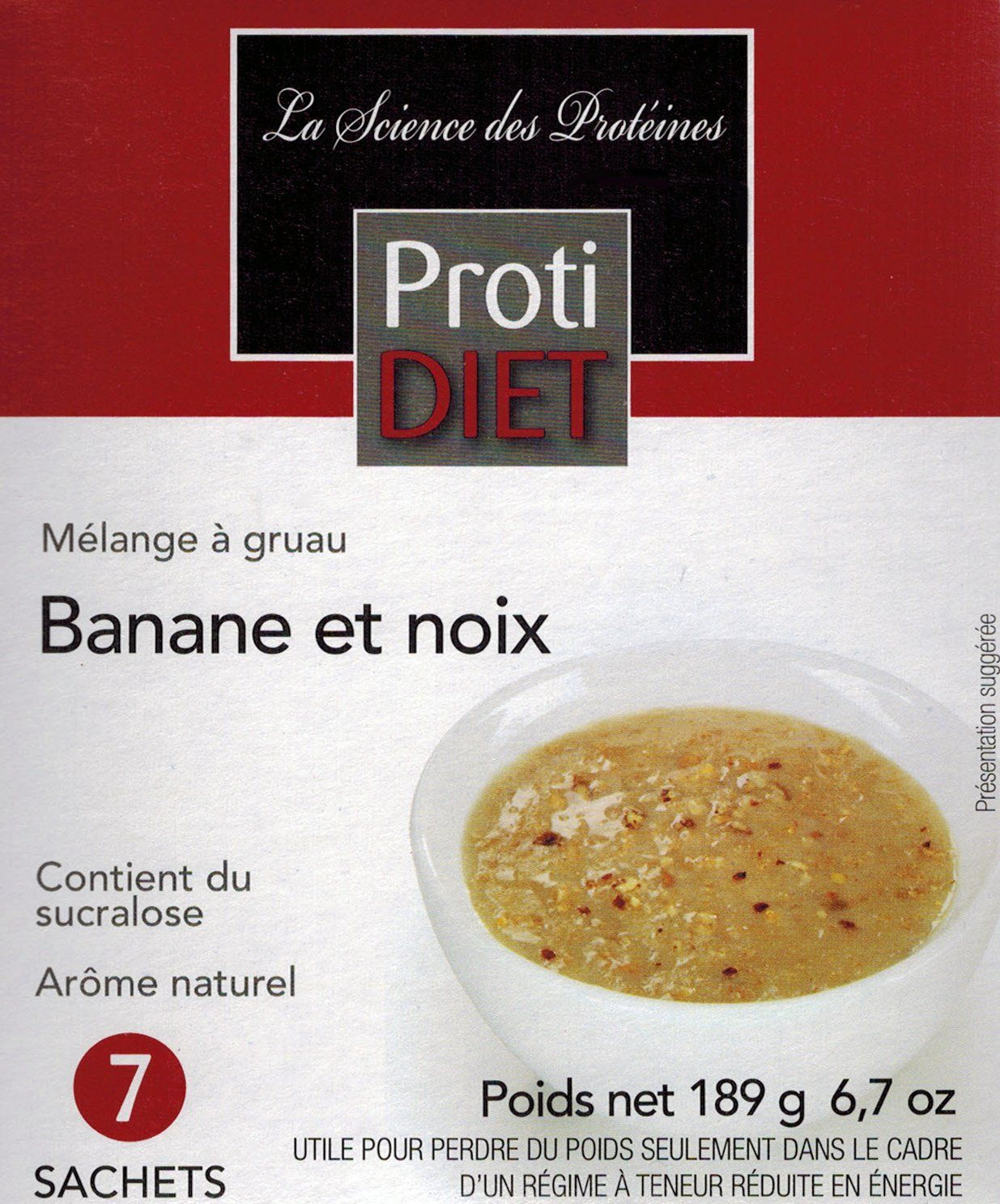 Protidiet Banana Nut Oatmeal 7 Pk You Can Find More Details By Visiting The Image Link Note Amazon Affiliate Link Banana Nut Oatmeal Banana Nut Oatmeal