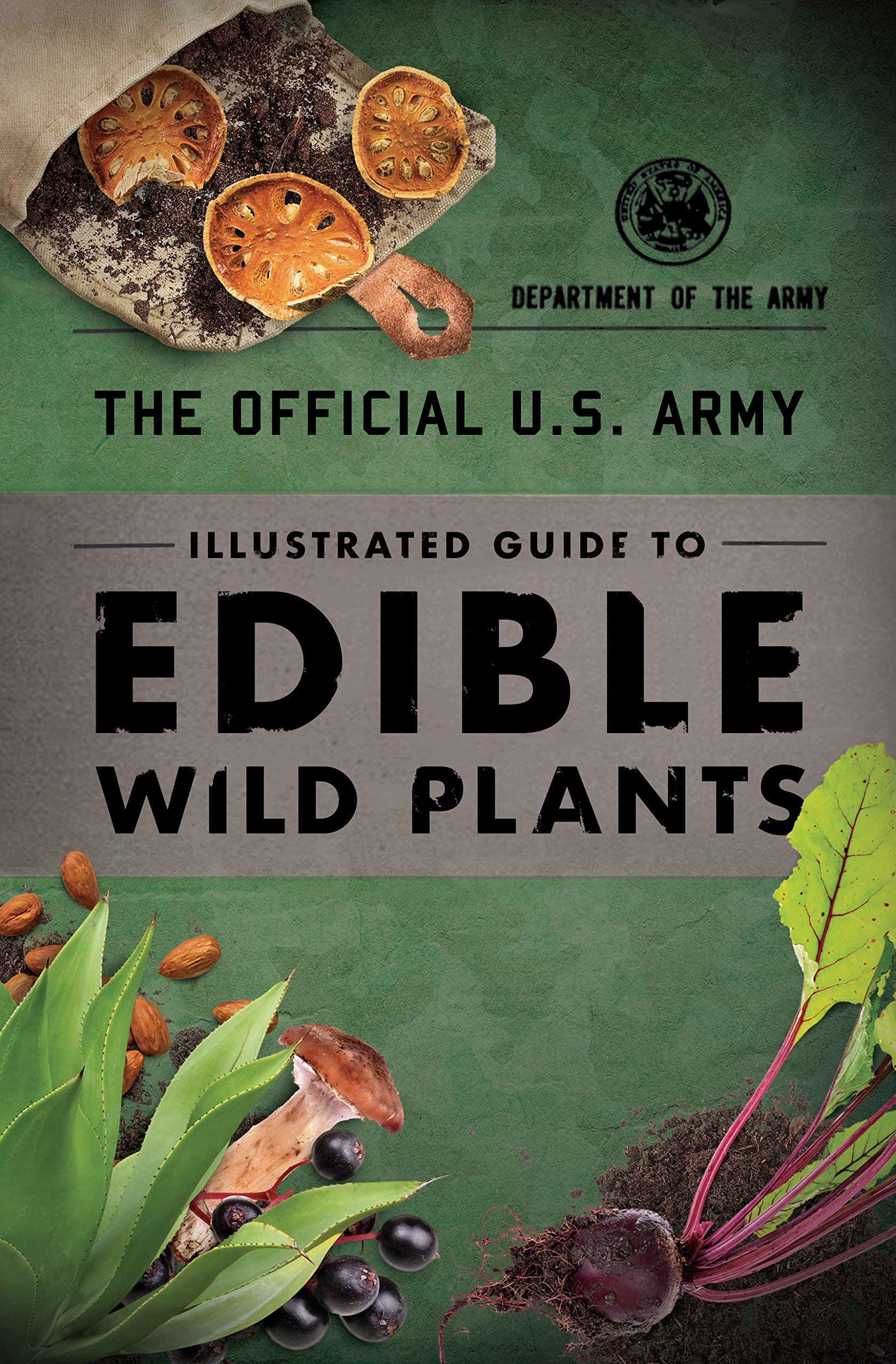 The Official U S Army Illustrated Guide To Edible Wild Plants