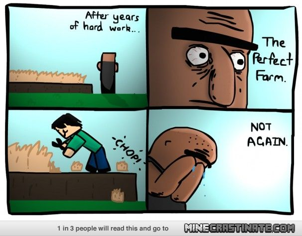 Poor Villagers Minecraft Funny Memes Minecraft Funny Minecraft