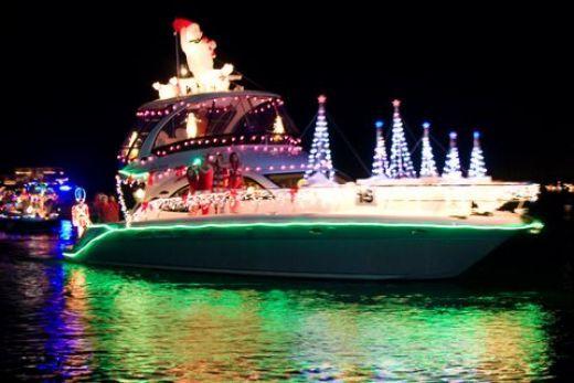 Christmas Boat Decorations.Christmas Boat Parade In Bradenton Florida Christmas