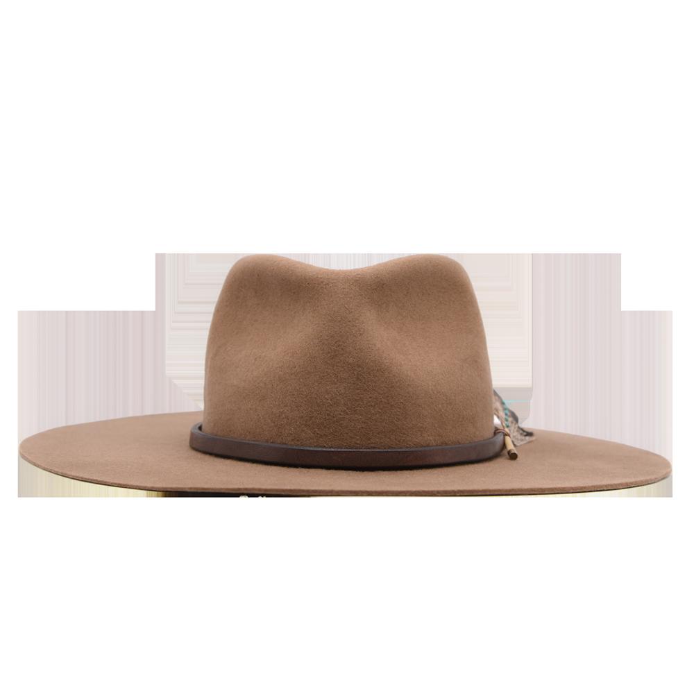 Luna Ninakuru Natural Turquoise Wool Hat Ethical Bags