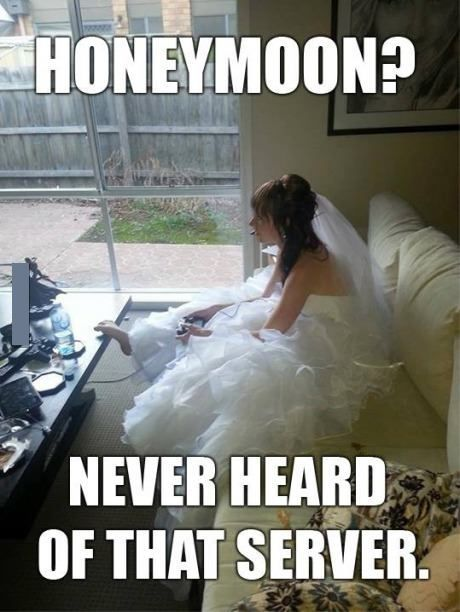 Funny Bride #Honeymoon, #Server