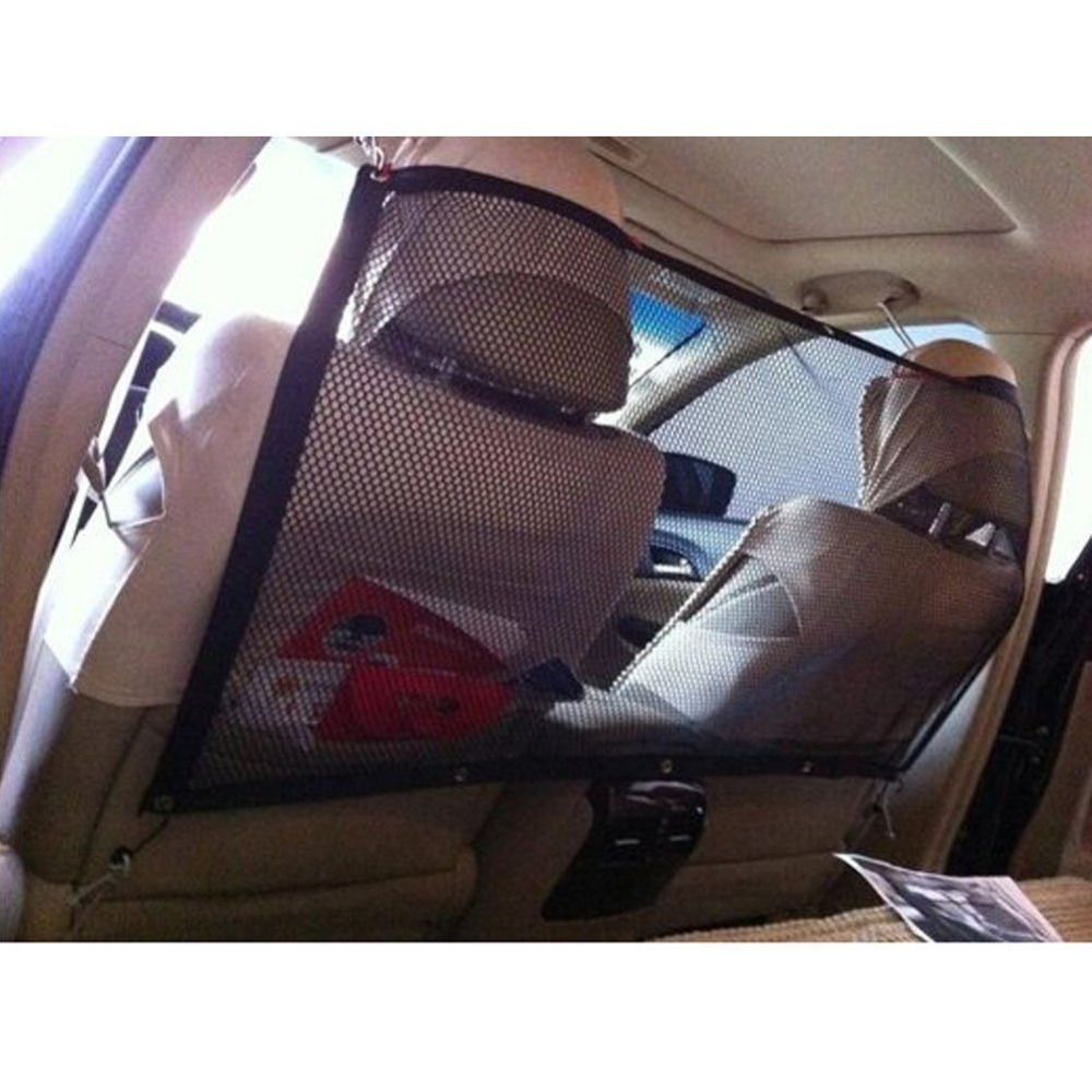New Pet Dog Original Safety Backseat Net Keep Dogs and Pet