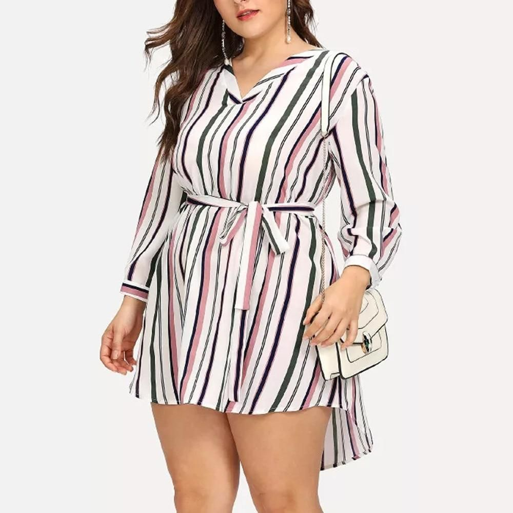 Plus Size Striped Casual Dress Striped Maxi Dresses Striped Casual Dresses Stripe Outfits [ 1000 x 1000 Pixel ]