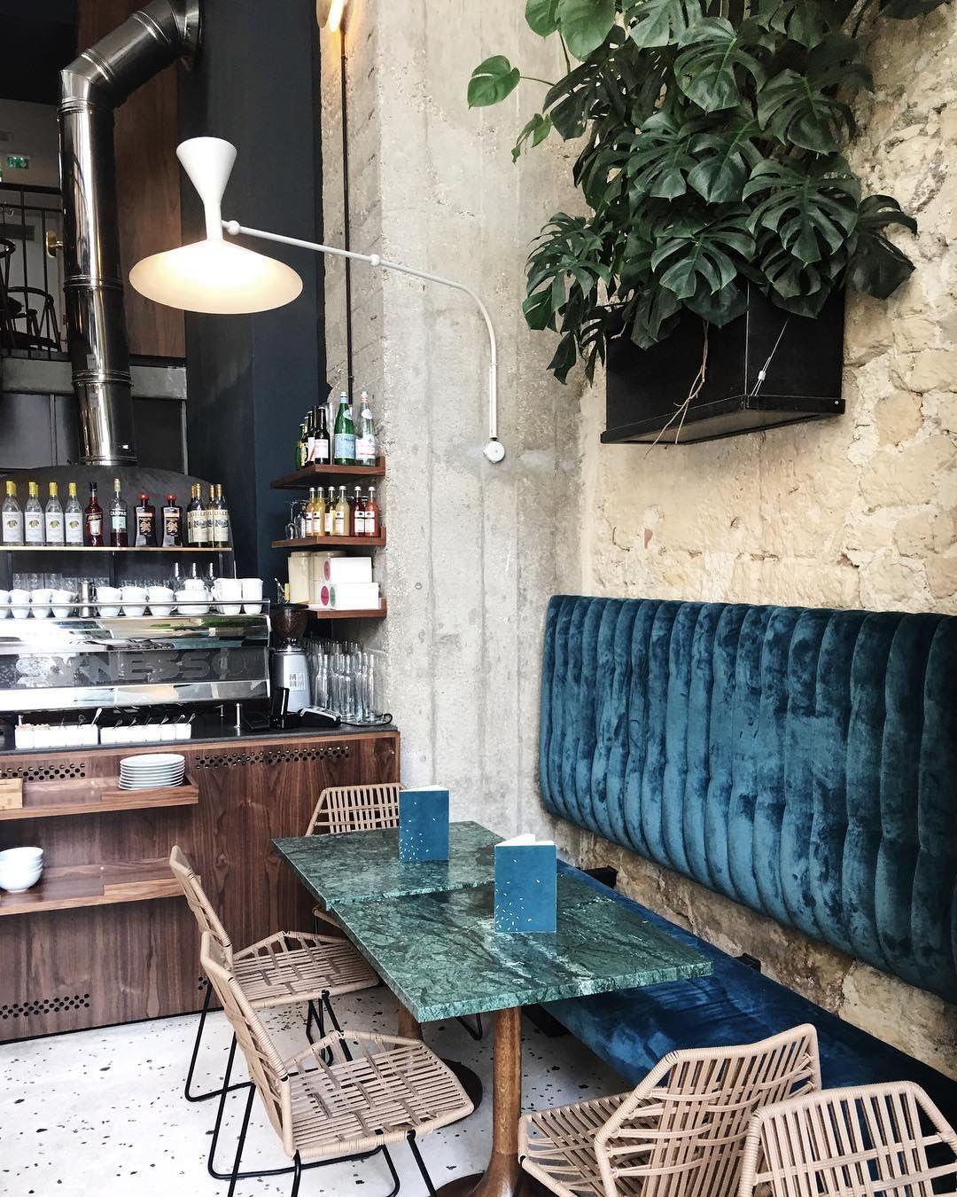 liked the look of whitewash against the crushed velvet white velvetrestaurant designrestaurant - Breakfast House Restaurant Wall Designs