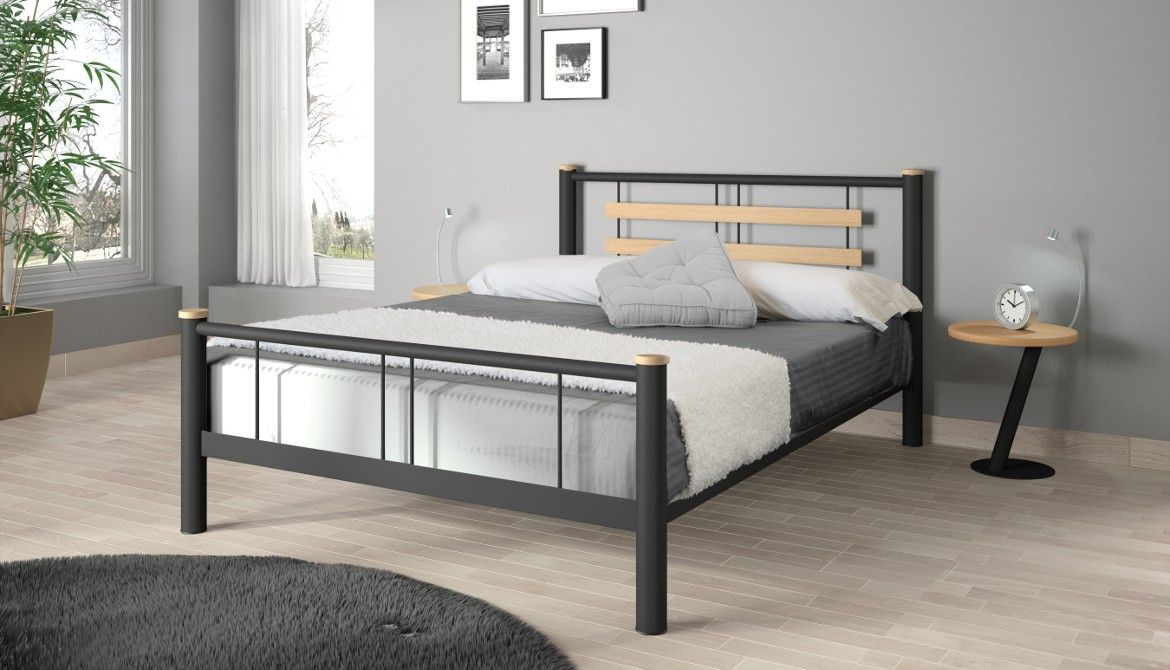New Romantisch bed FLORENCE en Finition Nickel Noir maat Resistub Frankrijk Romantische Slaapkamers Pinterest Florence and Lights