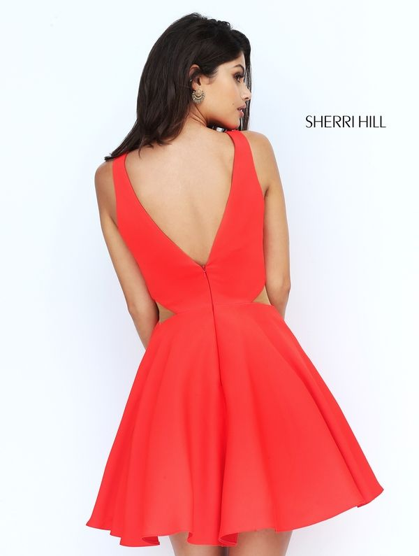Sherri Hill S50660. Short Party DressesSemi ...