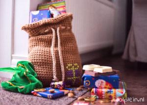 Sinterklaas Slinger - Gratis Haakpatroon #sintenpiet