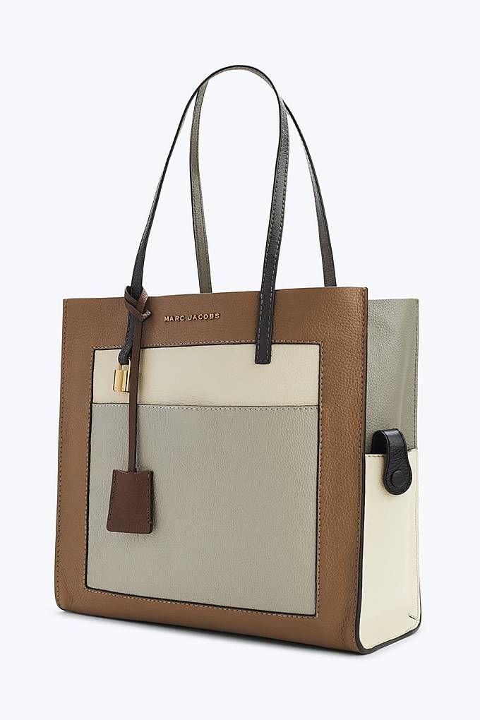 Marc Jacobs The Colorblock Grind Shopper Tote Bag in Gazelle   Marc ... cf51b242af4c