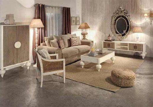 una preciosa coleccin de muebles para el saln en color blanco roto y frentes en madera color natural cosas para comprar pinterest searching