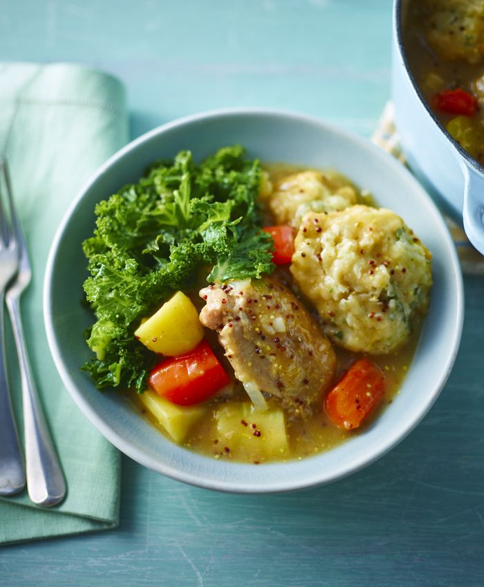 Somerset chicken casserole with sage dumplings recipe stew food somerset chicken casserole with sage dumplings recipe stew food and cooker forumfinder Image collections