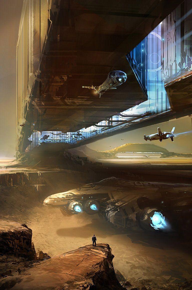 Ignoramus et ignorabimus sci fi concept art futuristic