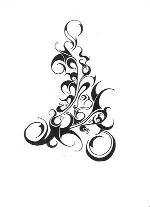 Tattoo Goth Tattoo Tribal Rose Tattoos Vine Tattoos