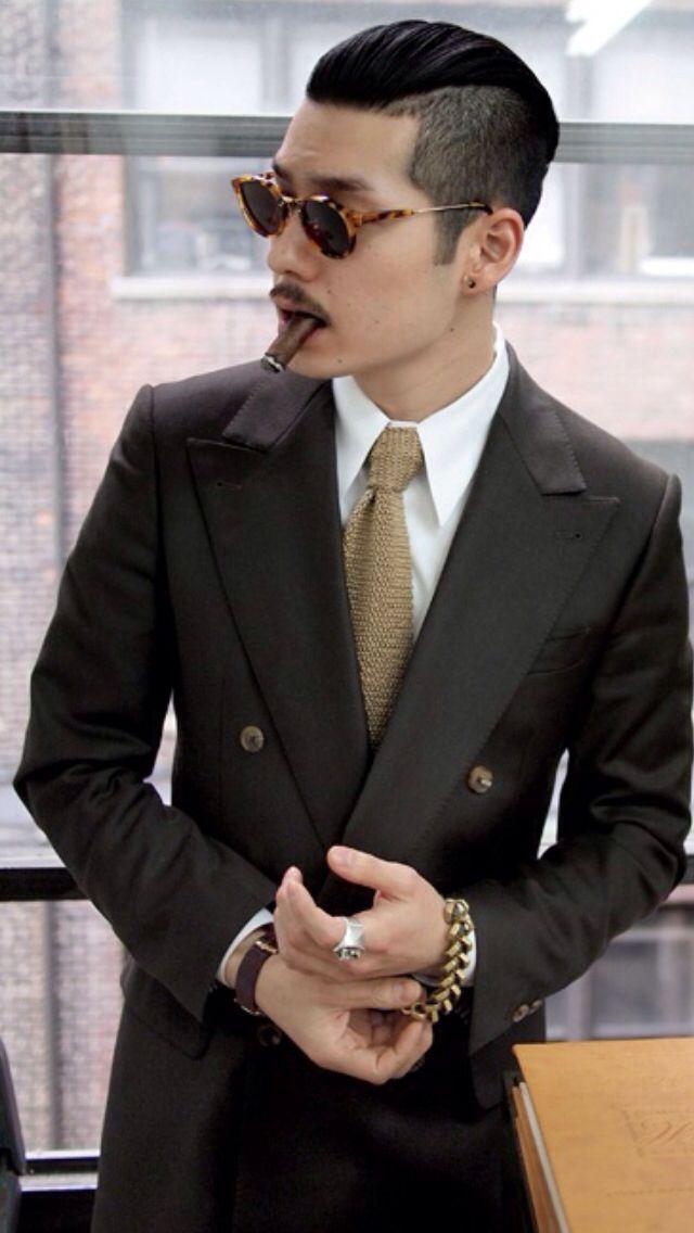 Fashion Asian Men Hairstyle Asian Suits Asian Beard